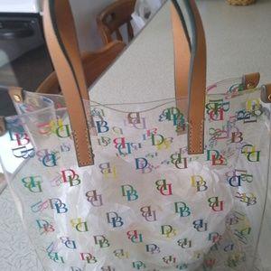 Multi- color DB signature clear bag